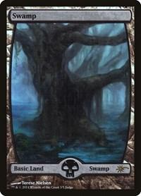 Swamp - Full Art, Magic: The Gathering, Judge Promos