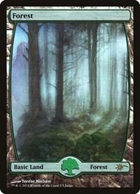 Forest - Full Art, Magic: The Gathering, Judge Promos
