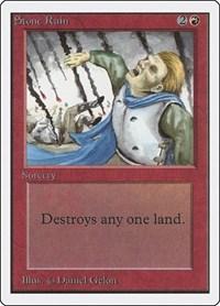 Stone Rain, Magic: The Gathering, Unlimited Edition