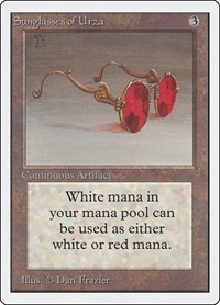 Sunglasses of Urza, Magic: The Gathering, Unlimited Edition