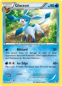 Glaceon, Pokemon, XY - Furious Fists