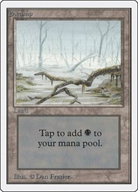 Swamp (A), Magic: The Gathering, Unlimited Edition