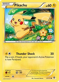 Pikachu, Pokemon, XY - Furious Fists