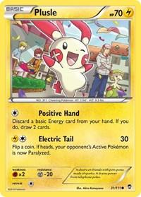 Plusle, Pokemon, XY - Furious Fists