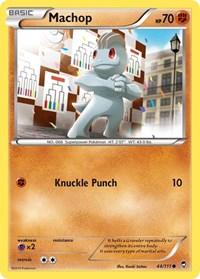 Machop, Pokemon, XY - Furious Fists