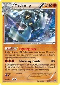 Machamp, Pokemon, XY - Furious Fists
