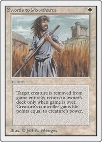 Swords to Plowshares, Magic: The Gathering, Unlimited Edition