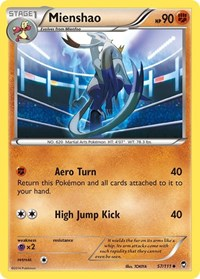 Mienshao, Pokemon, XY - Furious Fists