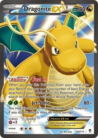 Dragonite EX (108 Full Art), Pokemon, XY - Furious Fists