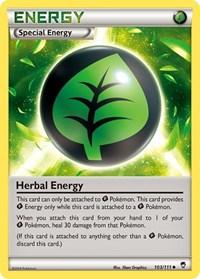 Herbal Energy, Pokemon, XY - Furious Fists