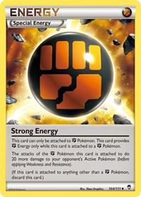 Strong Energy, Pokemon, XY - Furious Fists