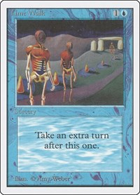 Time Walk, Magic: The Gathering, Unlimited Edition