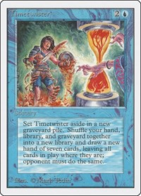 Timetwister, Magic: The Gathering, Unlimited Edition
