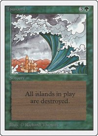Tsunami, Magic: The Gathering, Unlimited Edition