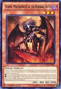Scarm, Malebranche of the Burning Abyss, YuGiOh, Duelist Alliance