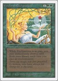 Verduran Enchantress, Magic: The Gathering, Unlimited Edition