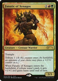Fanatic of Xenagos, Magic: The Gathering, FNM Promos