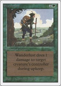 Wanderlust, Magic: The Gathering, Unlimited Edition