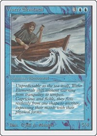 Water Elemental, Magic: The Gathering, Unlimited Edition