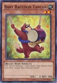 Baby Raccoon Tantan, YuGiOh, 2014 Mega-Tins Mega Pack