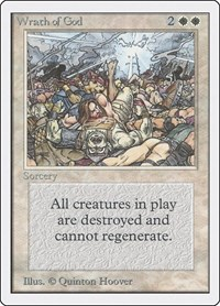 Wrath of God, Magic: The Gathering, Unlimited Edition