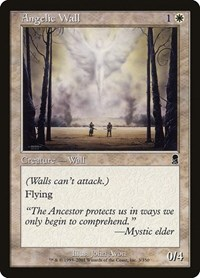 Angelic Wall, Magic: The Gathering, Odyssey