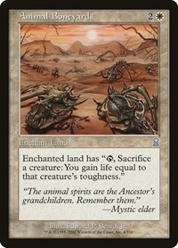 Animal Boneyard, Magic: The Gathering, Odyssey