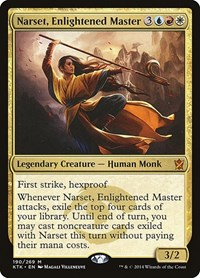 Narset, Enlightened Master, Magic: The Gathering, Khans of Tarkir