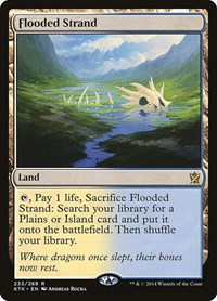 Flooded Strand, Magic, Khans of Tarkir