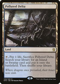 Polluted Delta, Magic: The Gathering, Khans of Tarkir