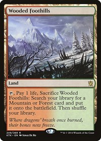 Wooded Foothills, Magic: The Gathering, Khans of Tarkir