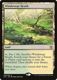 Windswept Heath, Magic, Khans of Tarkir