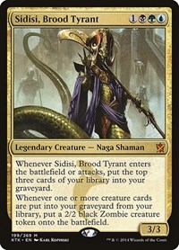 Sidisi, Brood Tyrant, Magic: The Gathering, Khans of Tarkir