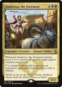 Anafenza, the Foremost (Foil)