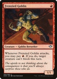 Frenzied Goblin, Magic: The Gathering, Duel Decks: Speed vs. Cunning