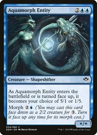 Aquamorph Entity, Magic: The Gathering, Duel Decks: Speed vs. Cunning