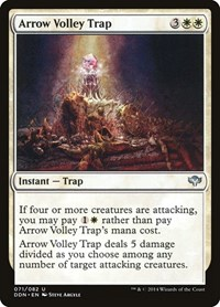Arrow Volley Trap, Magic: The Gathering, Duel Decks: Speed vs. Cunning