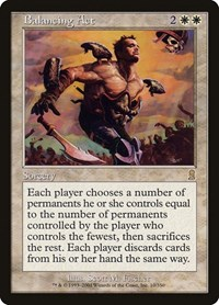 Balancing Act, Magic: The Gathering, Odyssey