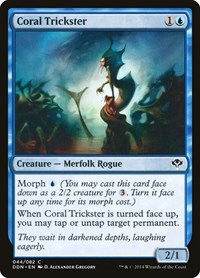 Coral Trickster, Magic: The Gathering, Duel Decks: Speed vs. Cunning