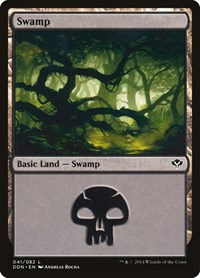 Swamp (41), Magic: The Gathering, Duel Decks: Speed vs. Cunning