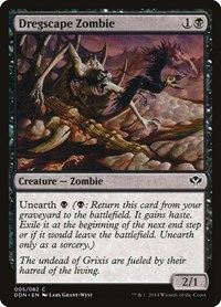 Dregscape Zombie, Magic: The Gathering, Duel Decks: Speed vs. Cunning