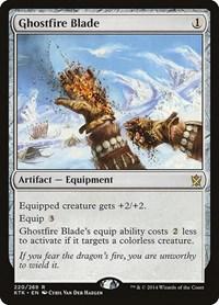 Ghostfire Blade, Magic, Khans of Tarkir