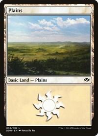 Plains (38), Magic: The Gathering, Duel Decks: Speed vs. Cunning