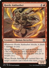 Horde Ambusher, Magic: The Gathering, Khans of Tarkir