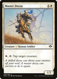 Master Decoy, Magic: The Gathering, Duel Decks: Speed vs. Cunning