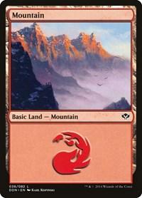 Mountain (36), Magic: The Gathering, Duel Decks: Speed vs. Cunning