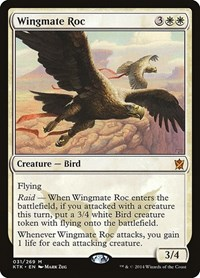 Wingmate Roc, Magic: The Gathering, Khans of Tarkir