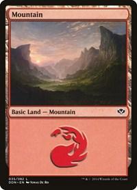 Mountain (35), Magic: The Gathering, Duel Decks: Speed vs. Cunning