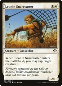 Leonin Snarecaster, Magic: The Gathering, Duel Decks: Speed vs. Cunning