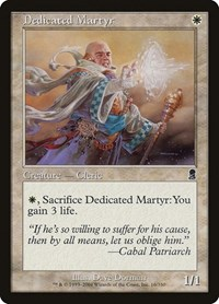 Dedicated Martyr, Magic: The Gathering, Odyssey